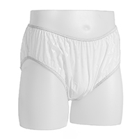 Cloud plastic pants brief cut