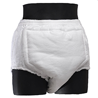 Pull-on day weight diaper