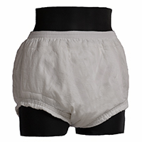 Pull-on night weight 100% cotton diaper