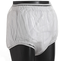 UltraSoft transparent plastic pants full cut