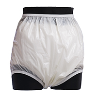 Cloud hi-back cut  plastic pants