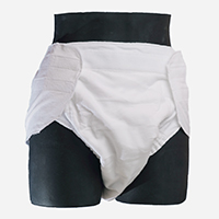 Velcro 100% night contour diaper